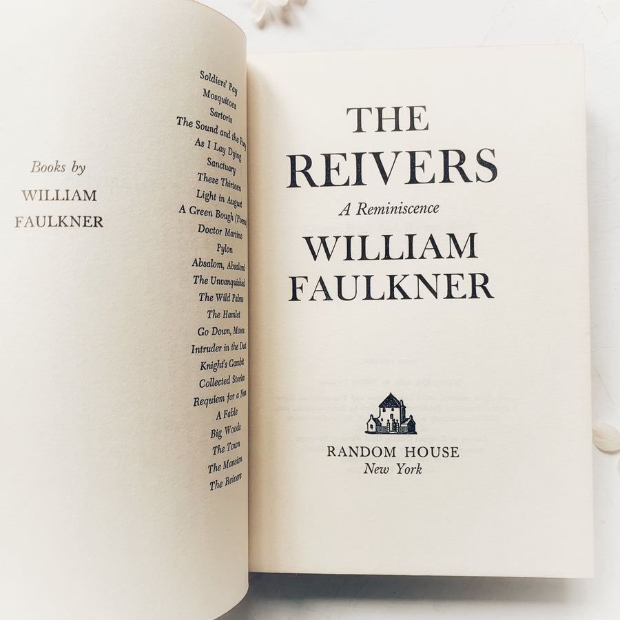 1962 - William Faulkner's - The Reivers, A Reminiscence, First Edition