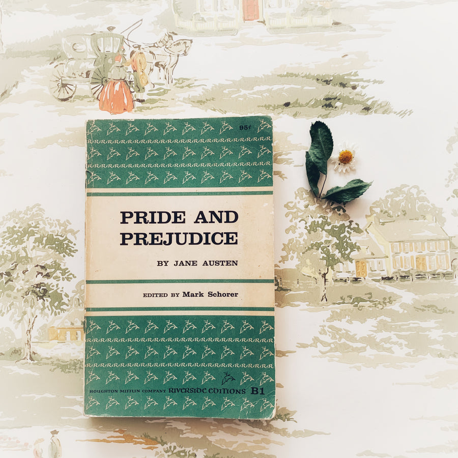 1956 - Riverside Edition; Pride and Prejudice