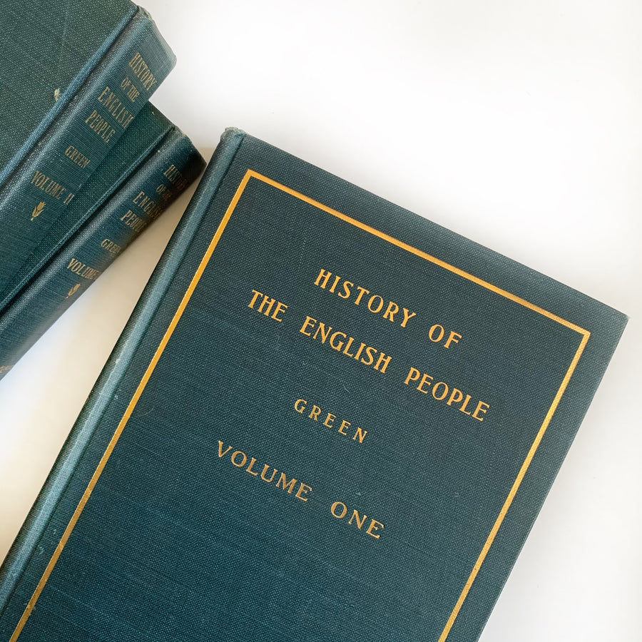 1900 - A Short History of the English People