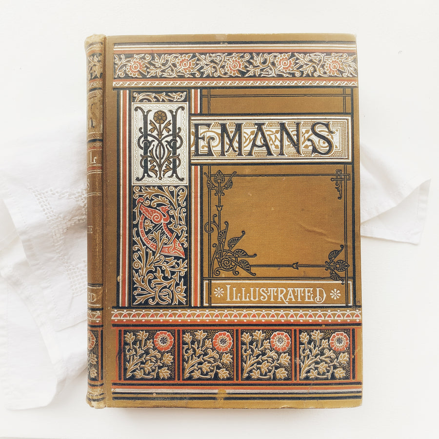 Late 1800s - The Poetical Works of Felicia Dorothea Hemans