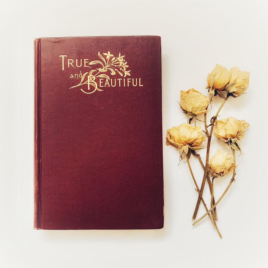1886 - The True And The Beautiful In Nature, Art, Morals, and Religion