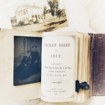 1862 Pocket Diary – Civil War Era