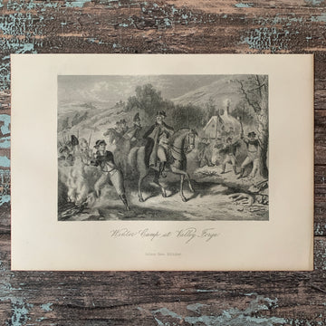 1882 Winter Camp at Valley Forge