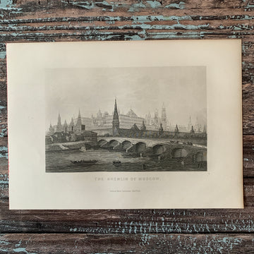 1882 The Kremlin of Moscow