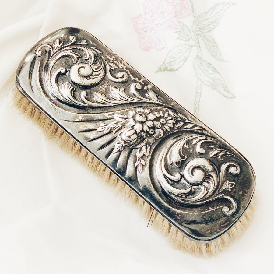 Vintage decorative clothing brush