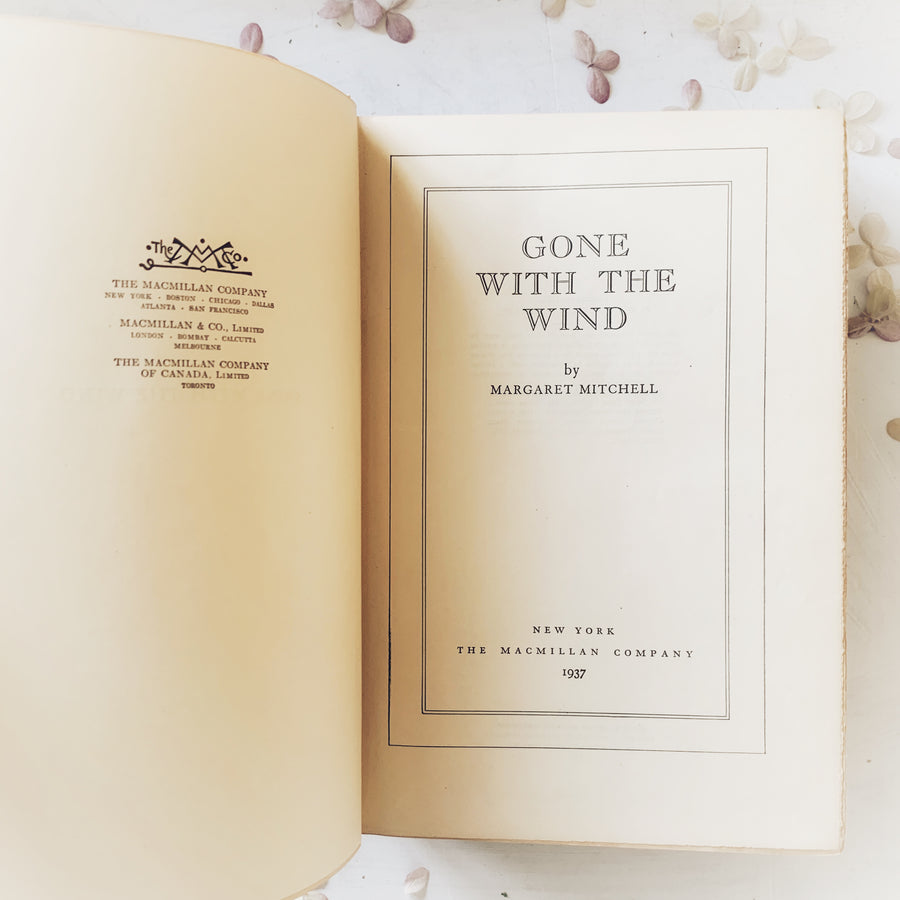 1937 Gone with the Wind – Early edition