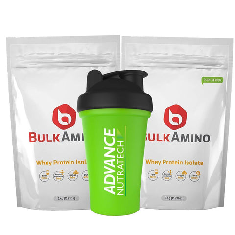 BulkAmino Whey Isolate Protein Unflavored Powders - Brutecart