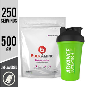 BulkAmino Beta-Alanine Unflavoured Powders
