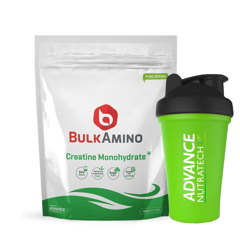 Image of BulkAmino Creatine Mono-hydrate Micronized Powders - Brutecart