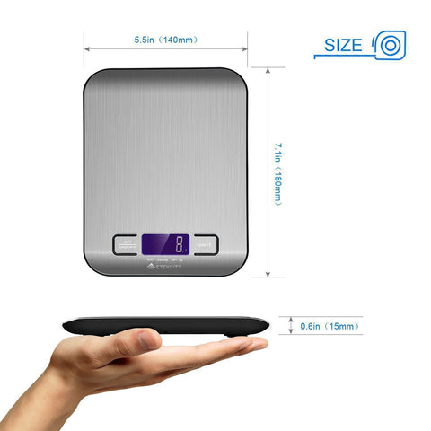 MIRO Digital Kitchen|luggage|jewellary   Scale|Weighing Machine (free Batteries) (1 yr limited warranty)
