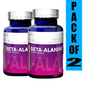 Advance Beta-Alanine Unflavoured Powders (Pack of 2)