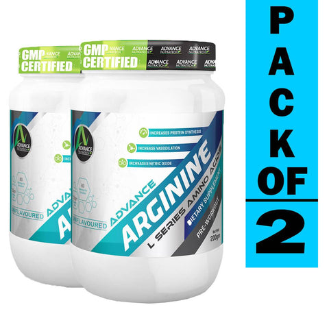 Advance Arginine Unflavor (Pack of 2)