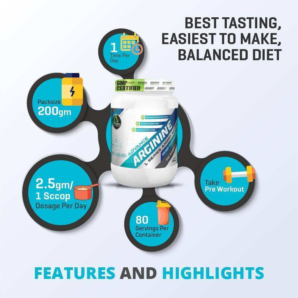 Advance Arginine Unflavor