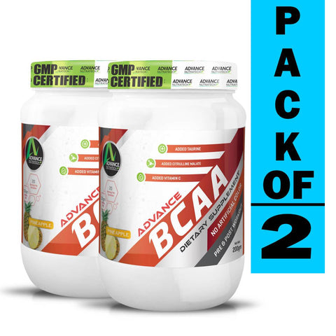 Image of Advance BCAA 2:1:1 Branch Chain Amino Acid (Pack of 2)