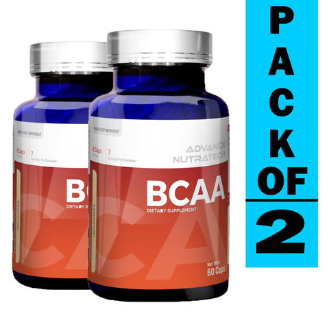 Advance BCAA 2:1:1 Branch Chain Amino Acid (Pack of 2)