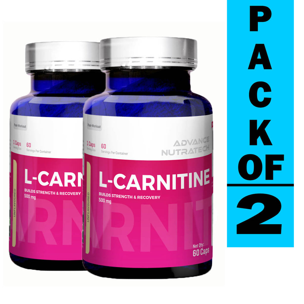 Advance L-Carnitine L-Tartrate Unflavor (Pack of 2)