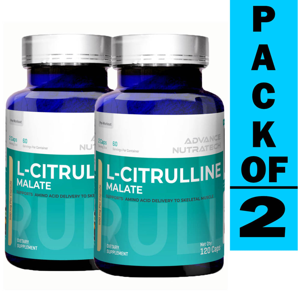 Advance Citrulline Malate 2:1 Unflavoured (Pack of 2)