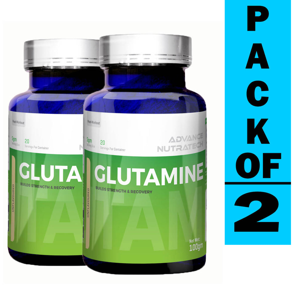 Advance Glutamine Powder (Pack of 2)