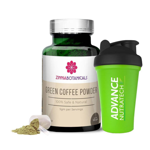 Zinnia Botanicals Green Coffee Bean