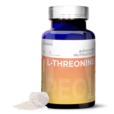 Image of L-Threonine Amino Sports Supplement Capsules & Powder