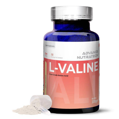 Image of L-VALINE Amino Sports Supplement Capsules & Powder