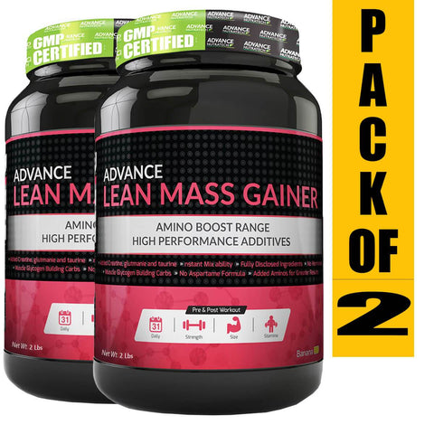Image of Lean Mass Gainer (Pack of 2)