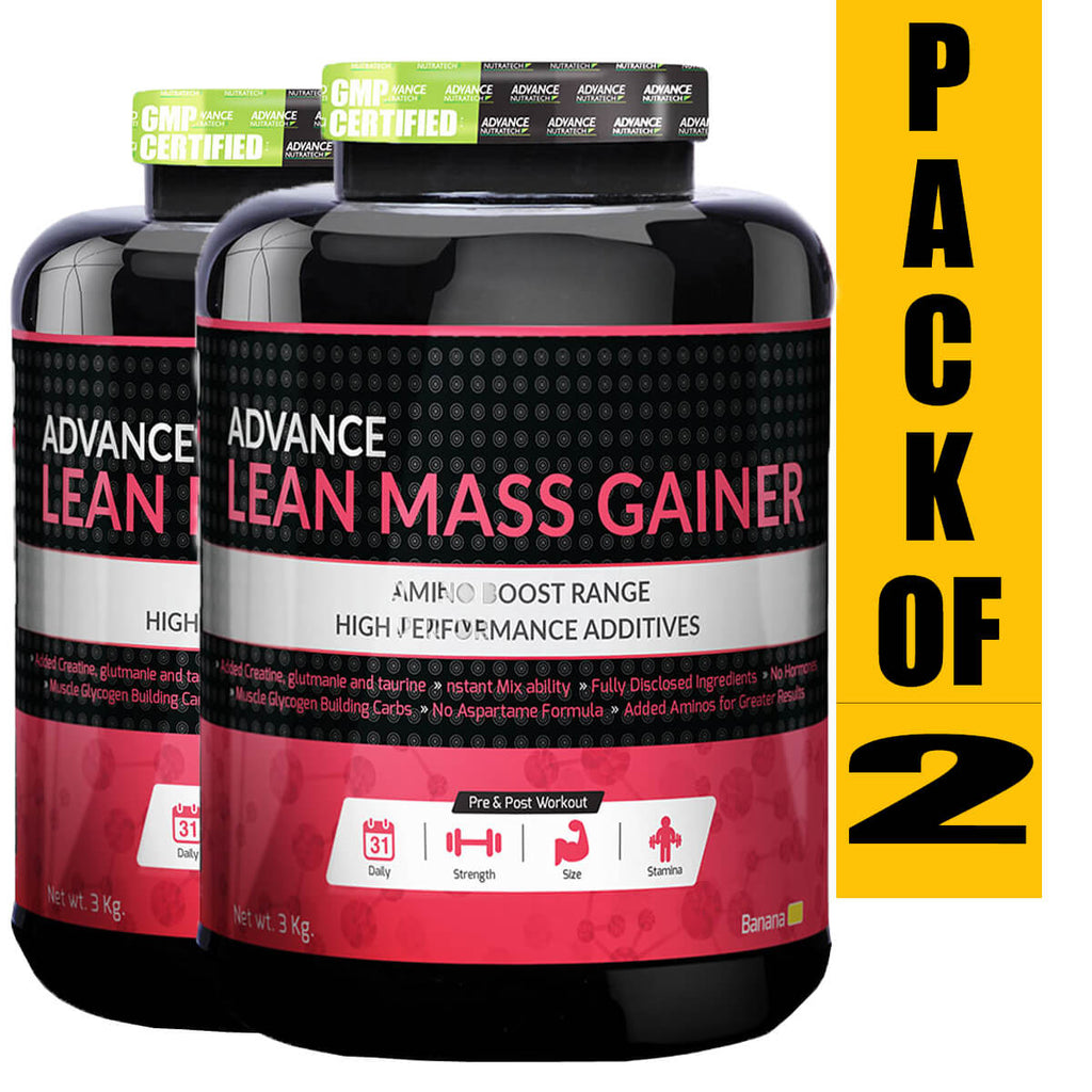 Lean Mass Gainer (Pack of 2)