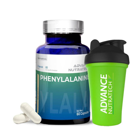 Image of Phenylalanine Amino Sports Supplement Capsules - 500mg
