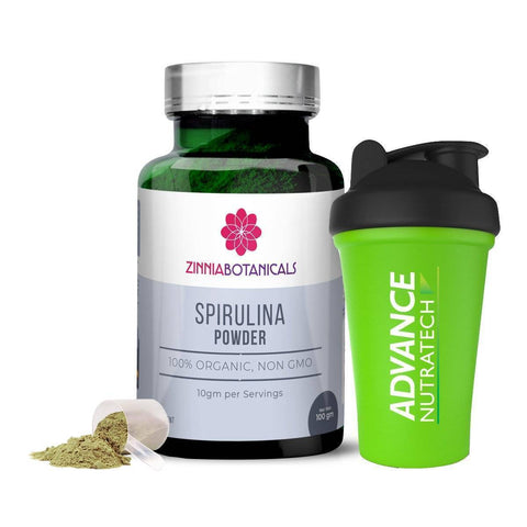 SPIRULINA Amino Sports Supplement Capsules & Powder