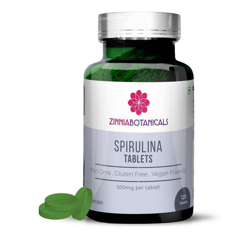 Image of SPIRULINA Amino Sports Supplement Capsules & Powder