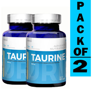 Advance Taurine Unflavored (Pack of 2)
