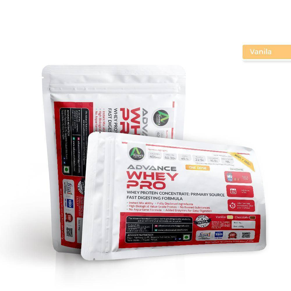Sample of Whey Protein Pro