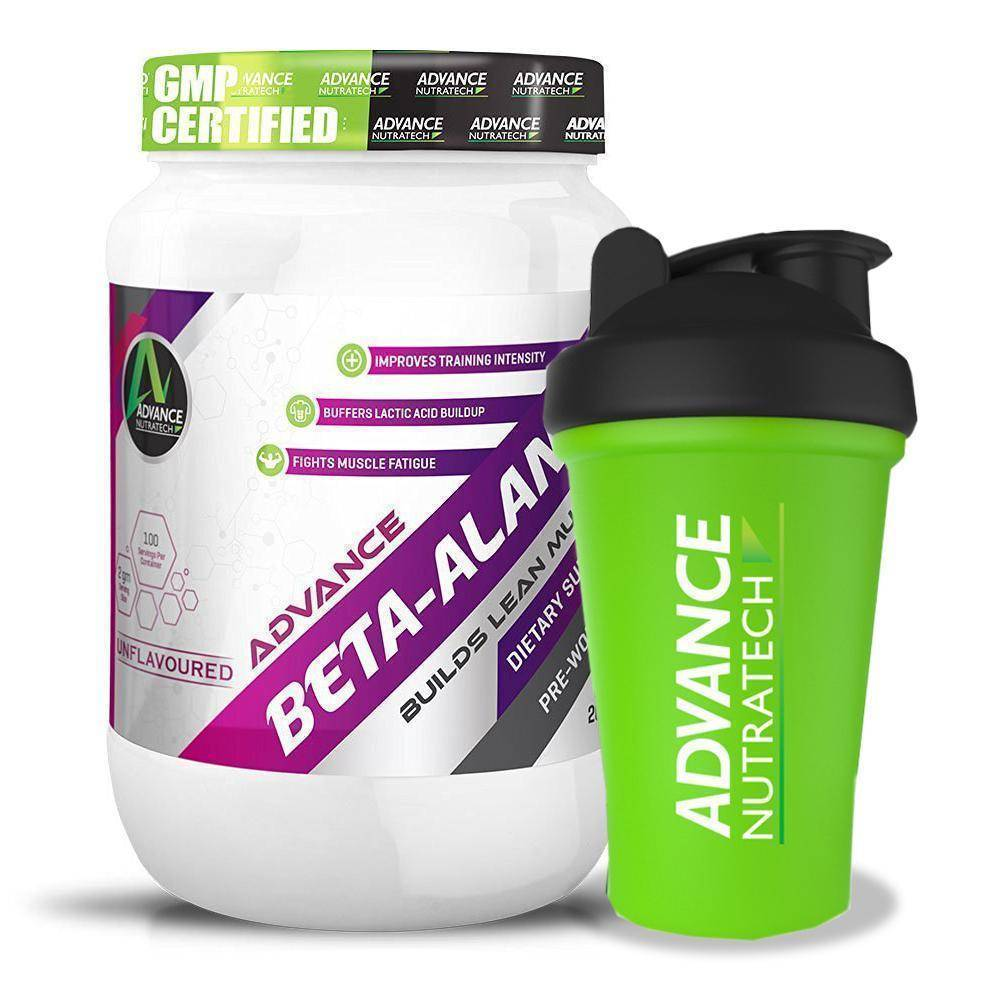 Advance Beta-Alanine Unflavoured Powders - Brutecart