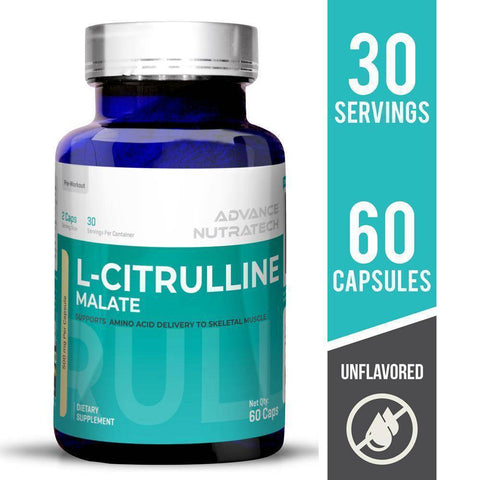 Advance Citrulline Malate 2:1 Unflavoured - Brutecart