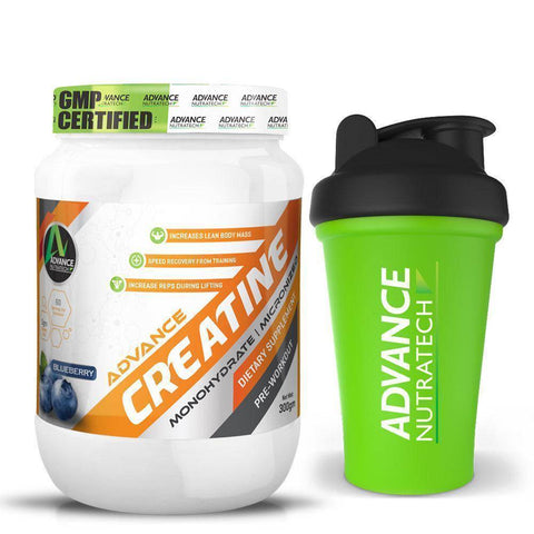 Image of Advance Creatine Mono-hydrate Micronized Powders - Brutecart