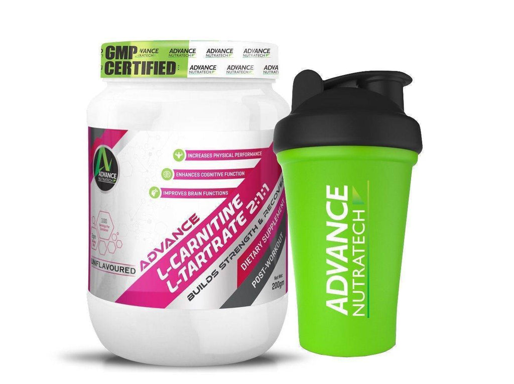 Advance L-Carnitine L-Tartrate Unflavor - Brutecart