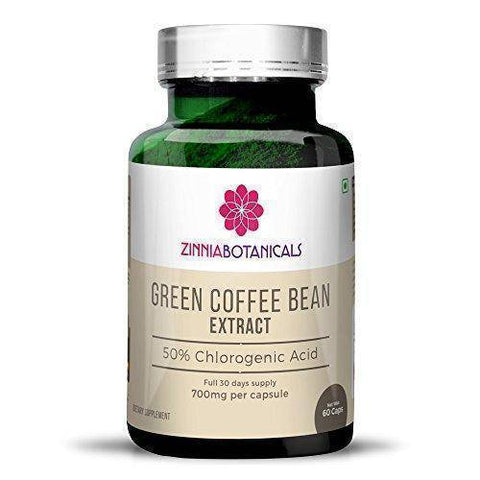 Advance Nutratech Zinnia Botanicals Green Coffee Bean weight loss and management pills (60 Capsules, 700Mg) - Brutecart