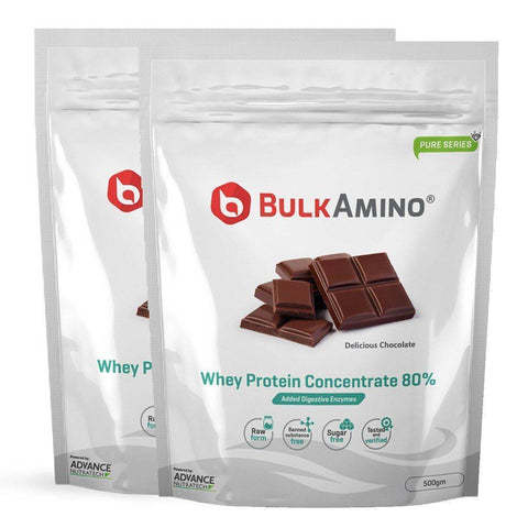 Image of BulkAmino Whey Protein Concentrate 80% Powders - Brutecart