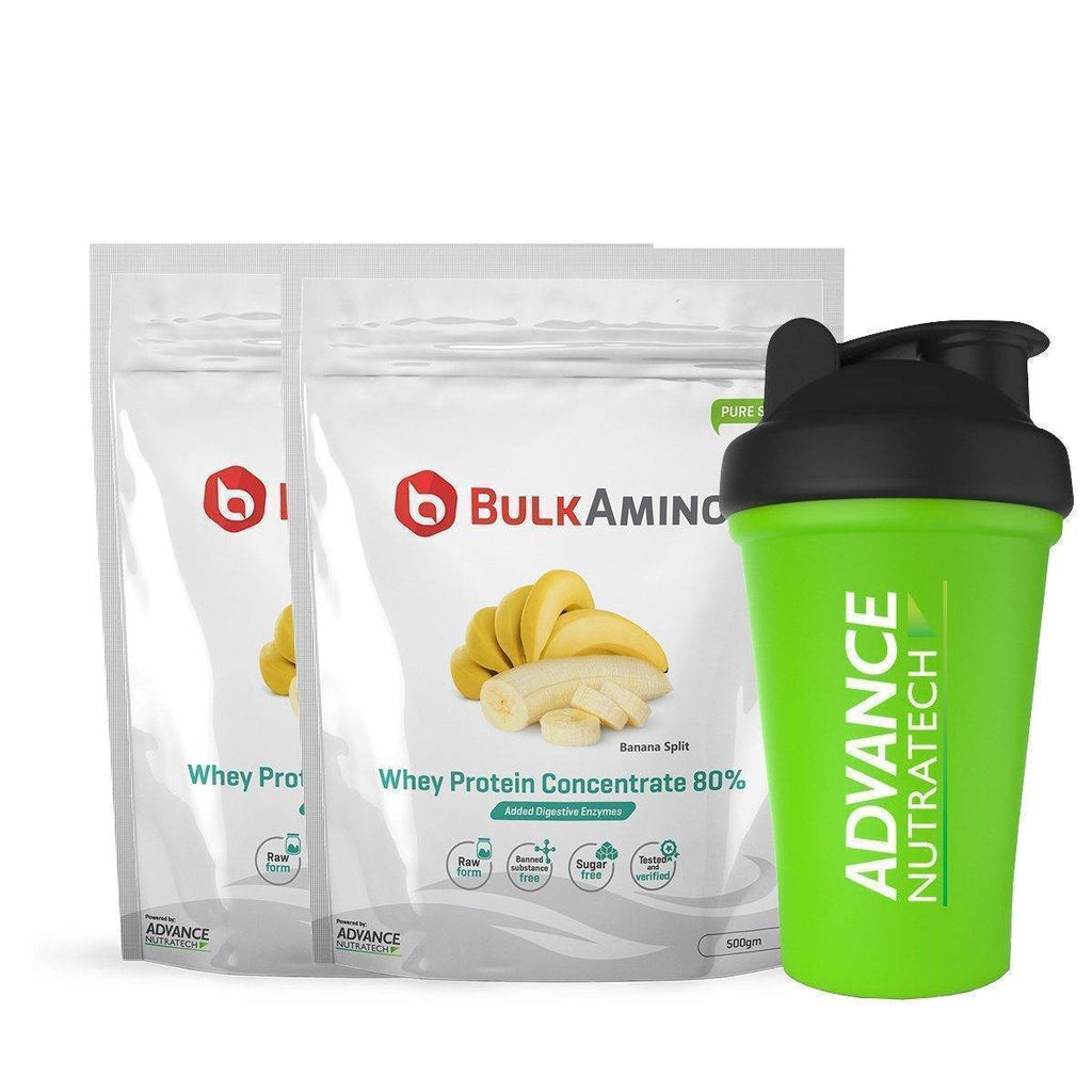 BulkAmino Whey Protein Concentrate 80% Powders - Brutecart