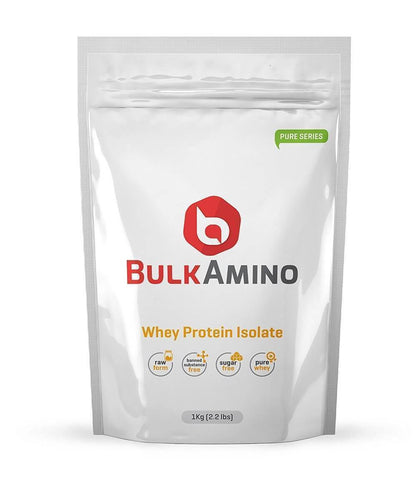 Image of BulkAmino Whey Isolate Protein Unflavored Powders - Brutecart