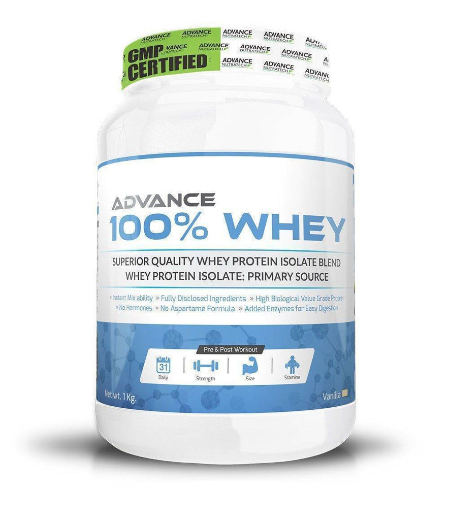 Advance 100% Whey Protein Isolate Powder