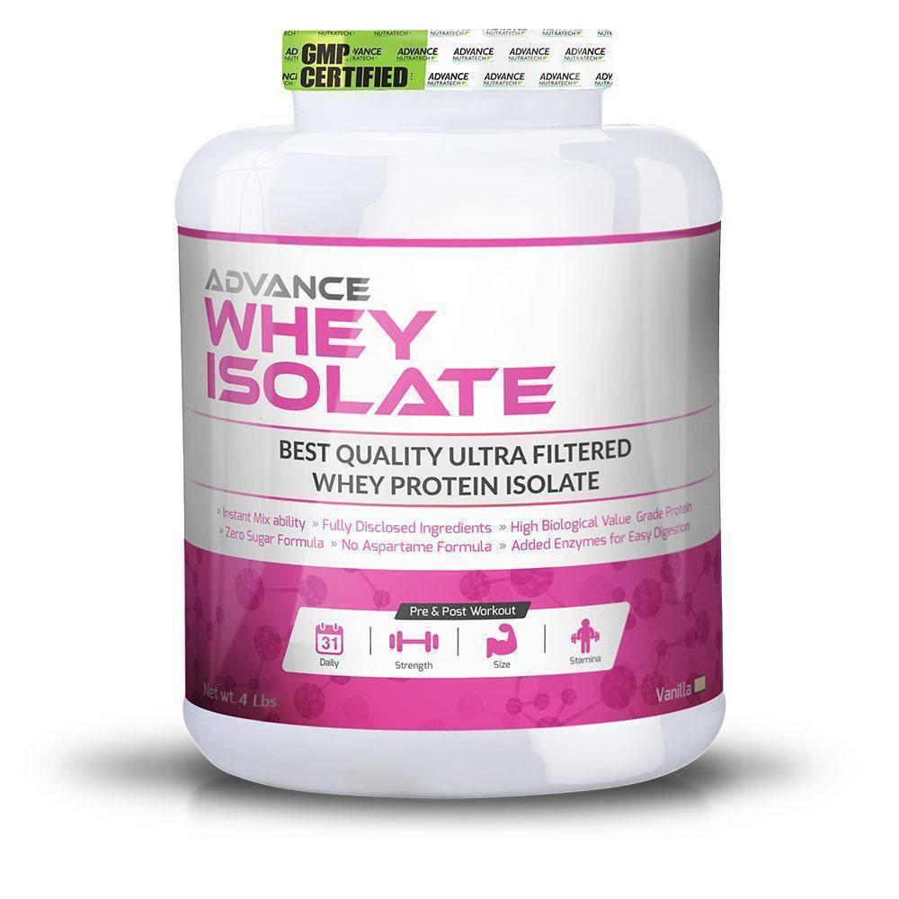 Advance Whey Isolate Protein Powders - Brutecart