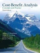 Cost Benefit Analysis: Concepts And Practice (3Rd Edition)