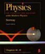 Physics For Scientists & Engineers With Modern Physics (Saunders Golden Sunburst Series)