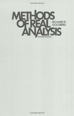 Methods Of Real Analysis