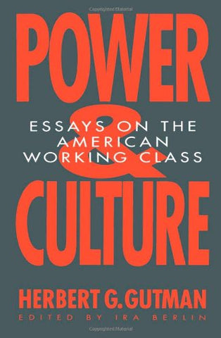 Power And Culture: Essays On The American Working Class