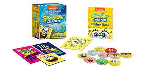 The Little Box Of Spongebob Squarepants: With Pins, Patch, Stickers, And Magnets! (Miniature Edition)