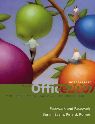 Microsoft Office 2007: Introductory Course (Origins Series)