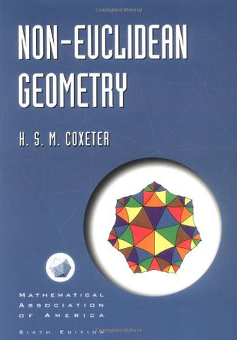 Non-Euclidean Geometry (Mathematical Association Of America Textbooks)