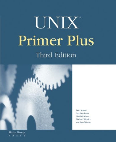 Unix Primer Plus (3Rd Edition)